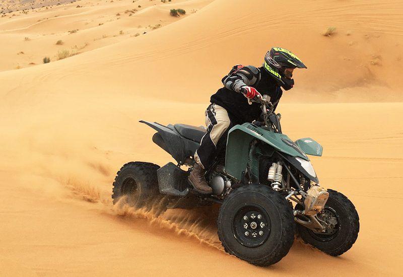 Quad. Actividades en Marruecos con The Best Morocco.