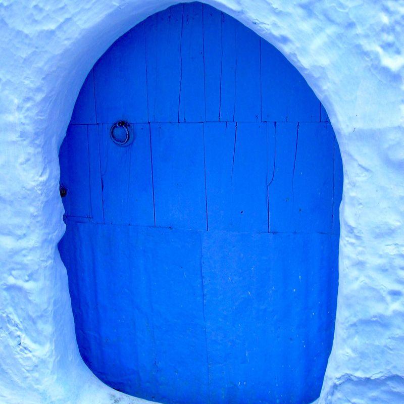 Puerta azul. The best Morocco.