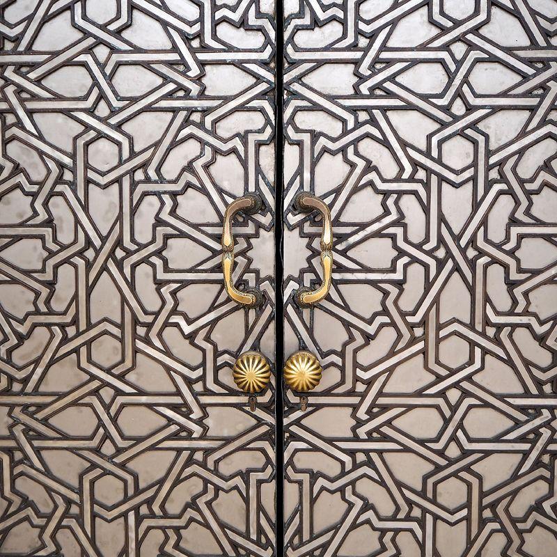 Casablanca: detalle de puerta