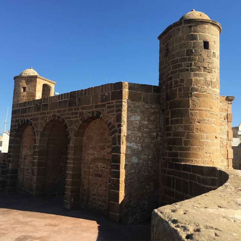 Castillo de Essaouira. Marruecos