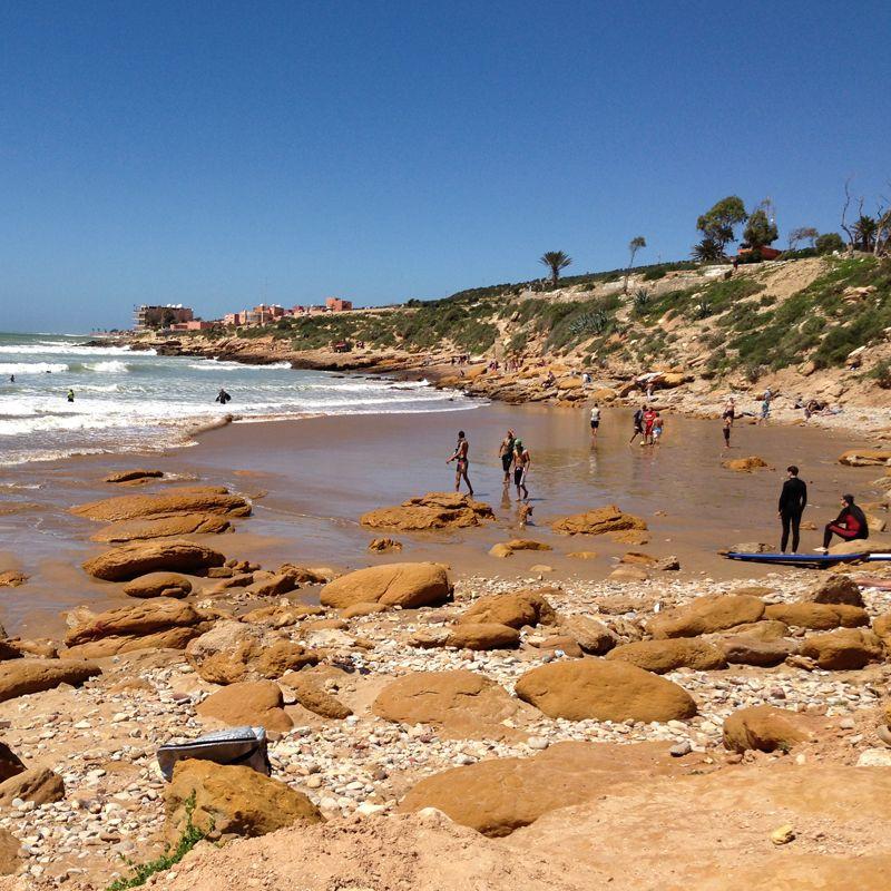 Costa Atlántica Sur. Playa en Marruecos