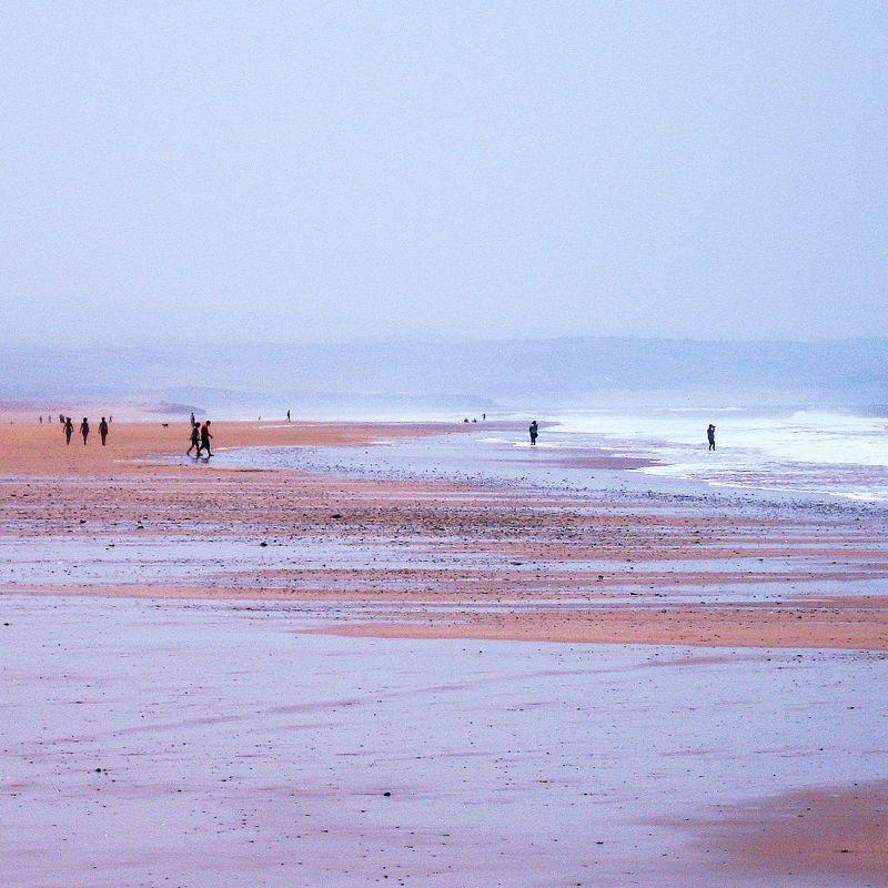 Costa Atlántica Sur. Play y vistas desde Marruecos.