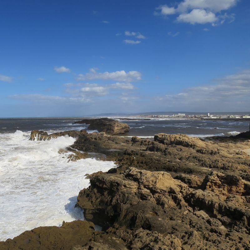 Costa Atlántica Sur. Vistas desde Marruecos.
