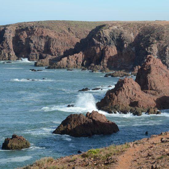 Costa Atlántica Sur. Vistas desde Marruecos. The Best Morocco.