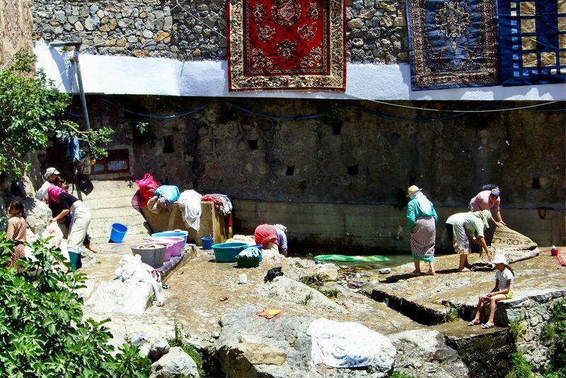 Lavaderos de Chaouen