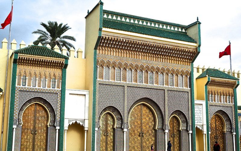 Palacio Real de Fez. Marruecos.