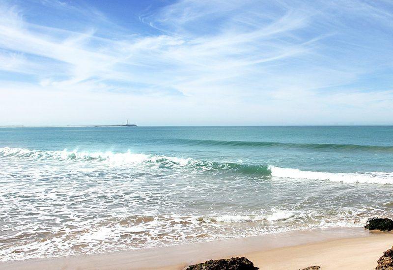 Playas paradisíacas en la Costa Atlántica en Marruecos