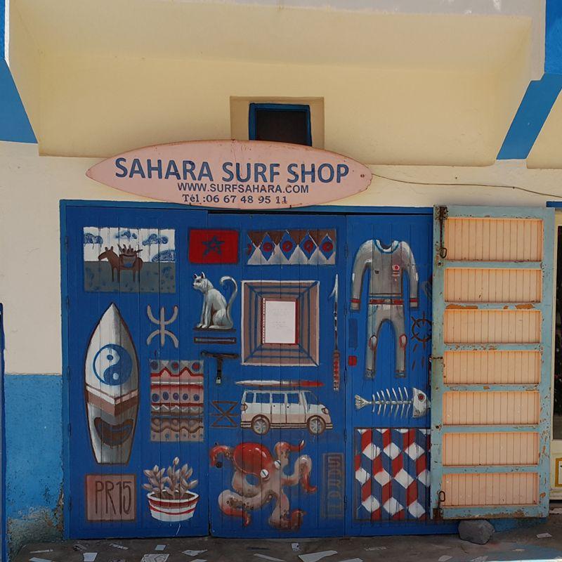 Costa Atlántica. Sáhara Surf Shop. The Best Morocco.
